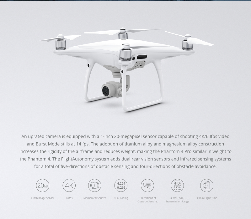 Dji Phantom 4 Pro + Drones For Sale | Buy Phantom 4 Pro ...